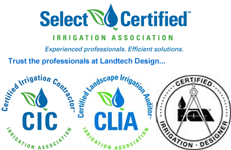 Irrigation Certifications